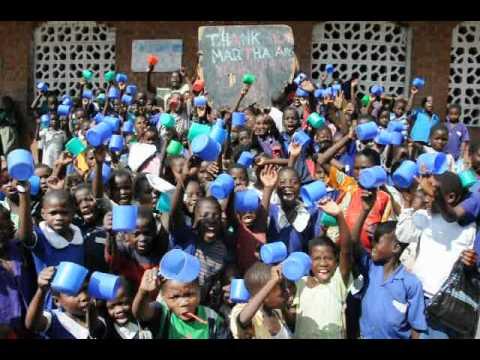 """""""Thank you Martha and friends!"""" - Lirangwe School in Malawi"""