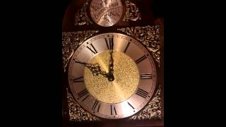 Tempus Fugit Grandfather Clock Now Running