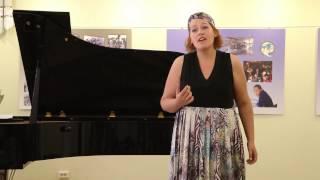 Алиса Касиляускайте, ученица школы музыки Форте