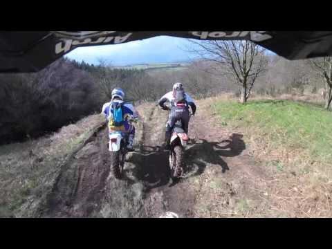 Round 1 of the NE XC 27th March 2016 Onboard Graham Jarvis