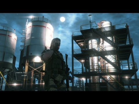 Watch 20 minutes of Metal Gear Solid 5: The Phantom Pain gameplay from Gamescom