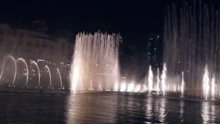 Dubai Fountain in Night 2016 (Full HD)