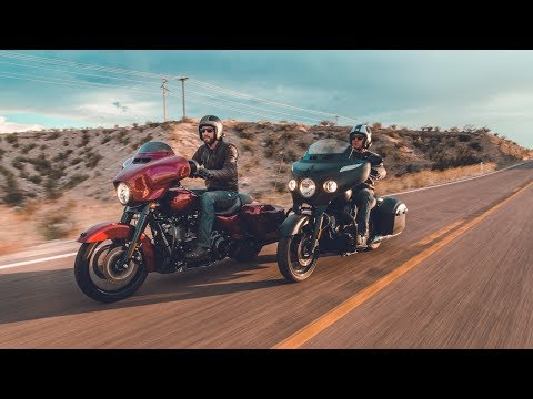 Harley Street Glide Special & Indian Chieftain Dark Horse: Chasing the Eclipse | ON TWO WHEELS