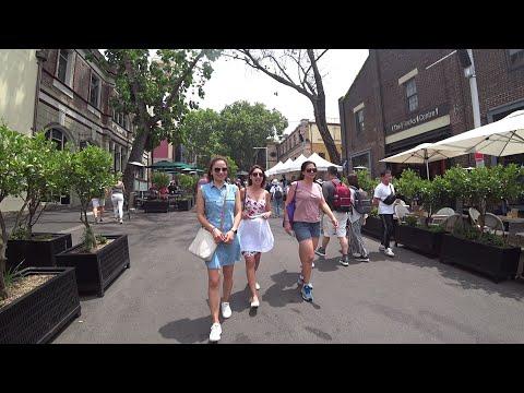 SYDNEY Walking TOUR - The Rocks, Sydney Australia 🐨