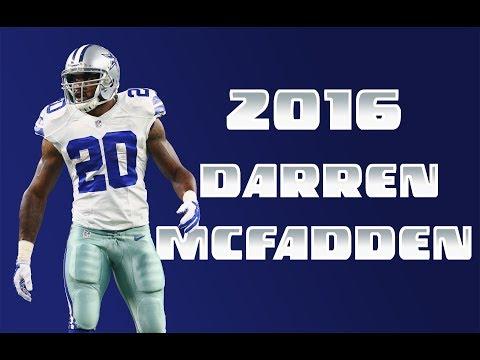 Every Darren McFadden catch/run of the 2016 season