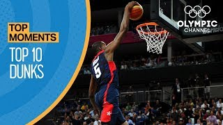 Top 10 Olympic Dunks | Top Moments