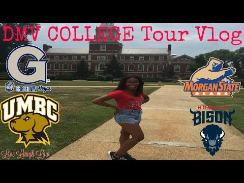 Vlog 5 - Back to the Mecca (DMV COLLEGE TOUR)