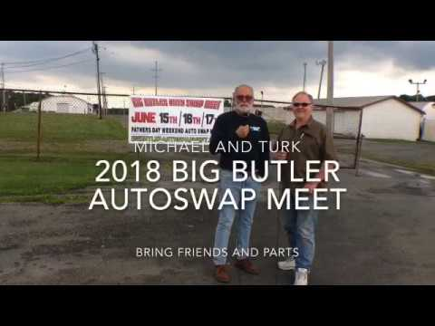 Big Butler Auto Swap Meet 2018 Announcement