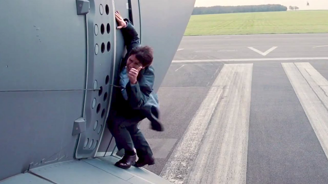 Tom Cruise Goes For REAL In Mission Impossible ROGUE NATION - Behind the scenes of the insane plane stunt in mission impossible rogue nation