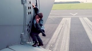 Tom Cruise goes for REAL in Mission Impossible 5 ROGUE NATION