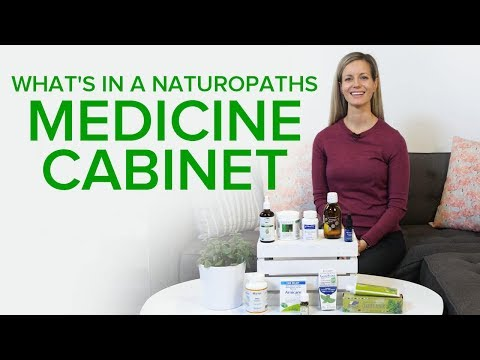 What's In A Naturopath's Medicine Cabinet?