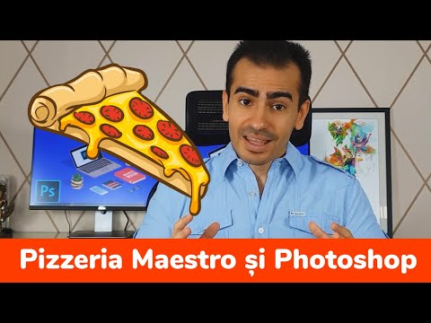 Pizzeria Maestro Si Photoshop