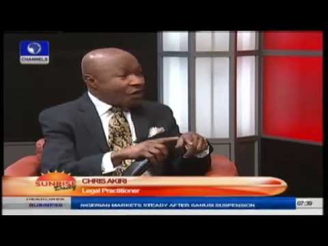 Sanusi Cannot Remain In Office While Investigation Is On Going- Chris Akiri