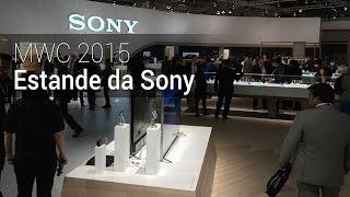 MWC 2015: Estande da Sony | Tudocelular.com