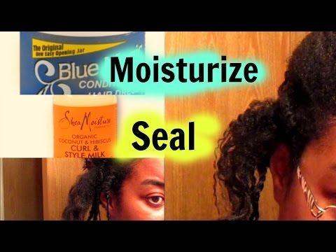 Back 2 Basics: Amazing moisture Retention???? Blue Magic Hair Grease!!!