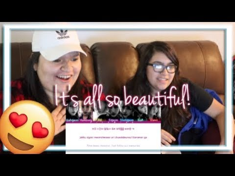 Dreamcatcher - Over The Sky Lyric Video Reaction   Happy 2 Year Anniversary DC!