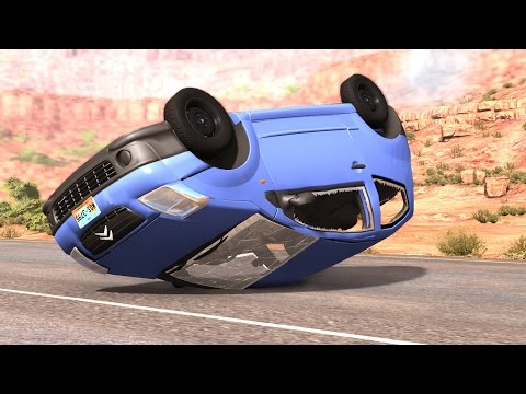 BeamNG.Drive Mod : Citroen C2 Crash Testing HD