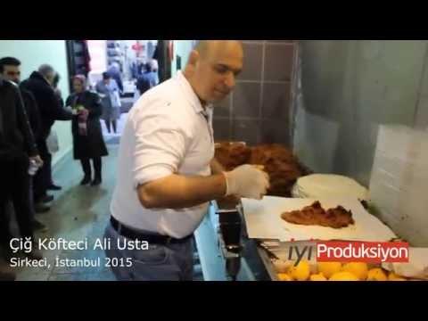 Çiğ Köfteci Ali  Usta - Çiğ Köfte Show