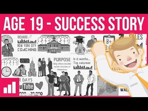 Improvement Pill Interview ► Wall Street Sales Executive at Age 19 - D2D Sales in The Hood