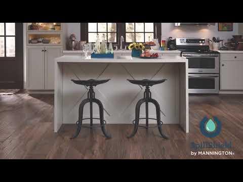 Water Resistant Laminate Flooring by Mannington