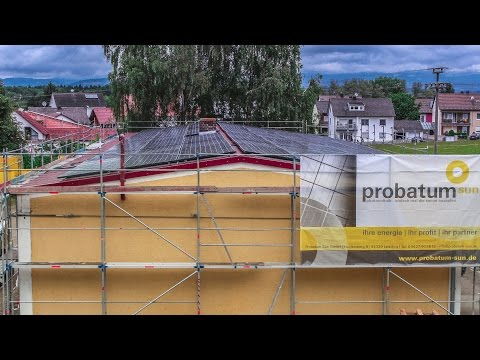 Solar Power Installation | probatum | Time Lapse