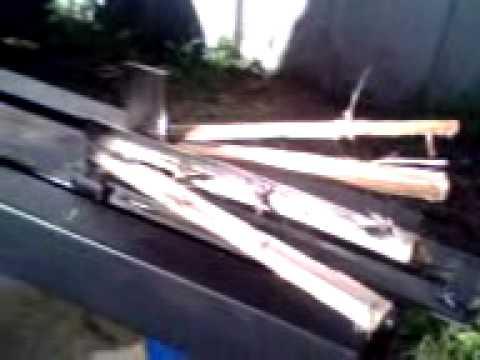 Maquina productora de astillas de le a youtube for Maquina de astillar lena