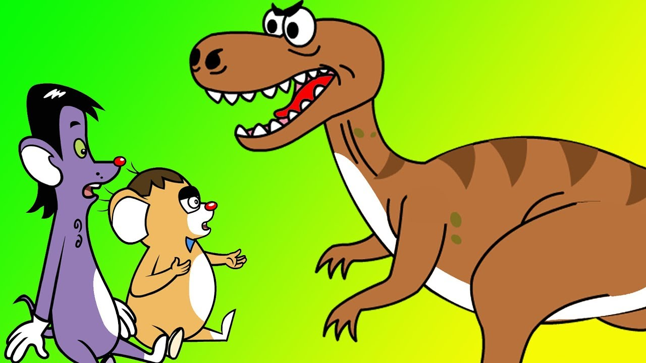 Rat-A-Tat |'Charley's Jurassic T-rex Dinosaur Park + More'| Chotoonz Kids Funny Cartoon Videos