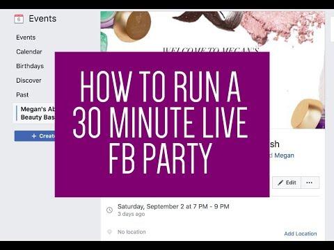 online live parties