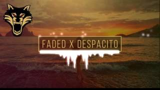 Despacito X Faded Mashup [Extreme Bass Boosted]