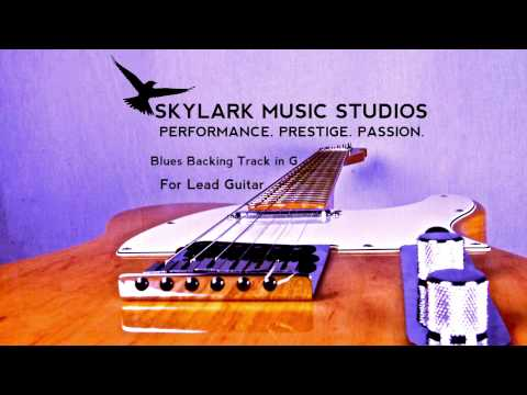 12 Bar Chicago Blues - Backing Track in G for Lead Guitar