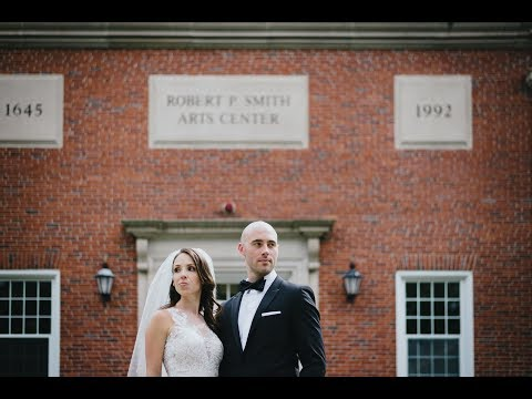 Beautiful Wedding at the Roxbury Latin School with Dan and Megan