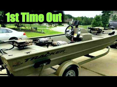 1754 grizzly tracker mvx sc 60hp four stroke first ride