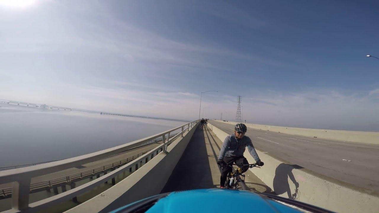 Image result for bike paths on Dumbarton bridge
