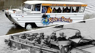 What is a duck boat? How the tour boats came to be