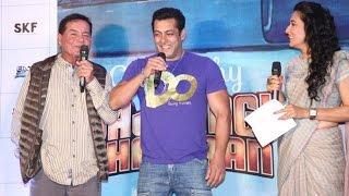 UNCUT: Salman Khan Jokes Along With Father Salim Khan At Bajrangi Bhaijaan Book Launch