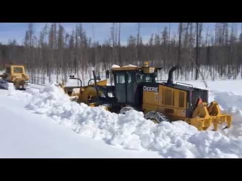 Yellowstone Park Snow Plowing