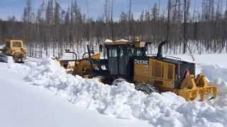 Yellowstone Park Snow Plowing thumbnail