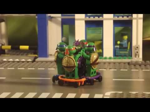 Lego мультфильм черепашки ниндзя