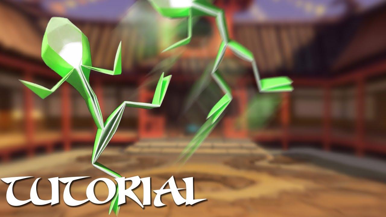 Origami stick figure tutorial youtube origami stick figure tutorial jeuxipadfo Images