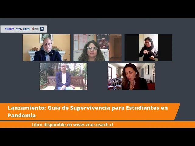 EN VIVO - LANZAMIENTO: GUIA DE SUPERVIVENCIA PARA ESTUDIANTES EN PANDEMIA