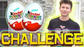 SURPRISE EGGS OPENING CHALLENGES!