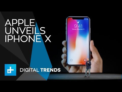 Apple iPhone X - Full Announcement From Apple's 2017 Keynote