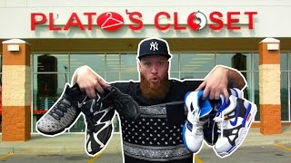 SEARCHING for LIMITED SNEAKERS at PLATO'S CLOSET!!!