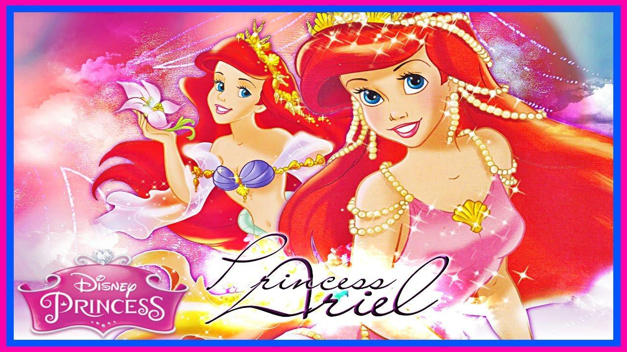 Disney little mermaid dress up princess ariel games for kids