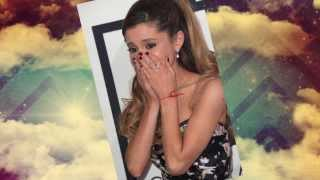Ariana Grande Cries On the Red Carpet at 2014 Grammy Awards! :(