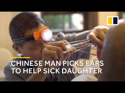 Chinese father takes daughter job to pay for her cancer treatment