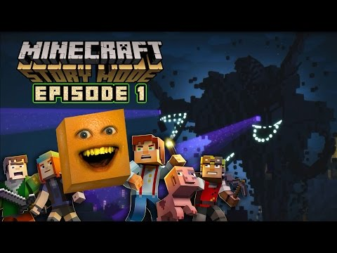 Annoying Orange - MINECRAFT STORY MODE: Episode 1 Complete!