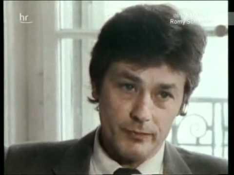 Alain Delon 1983 interview (Romy)