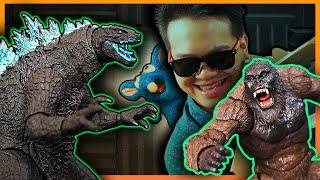 SH Monsterarts GODZILLA vs. KONG ft. StinkyBlueRat! | JobbytheHong Review
