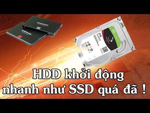 Cách tăng tốc độ khởi động cho HDD nhanh như SSD